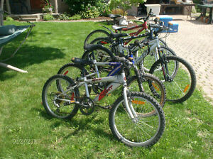 Used Bucycles and Mountain Bikes