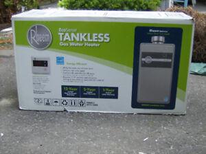 Rheem Eco-Sense Tankless Water Heater Brand New Natural Gas