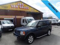 2007 56 LAND ROVER DISCOVERY 3 2.7 3 TDV6 HSE 5D AUTO 188 BHP (( 7 SEATER ) DIES