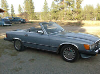 1988 Mercedes 560 SL Convertible - California Car