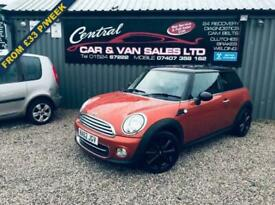 image for 2012 MINI HATCH COOPER 1.6 COOPER (122BHP) ONLY 52K MILES RARE COLOUR FINANCE PX