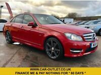 2011 MERCEDES C250 CDI SPORT AUTO BLUEEFFICIENCY 202 BHP - FSH - 2 KEYS
