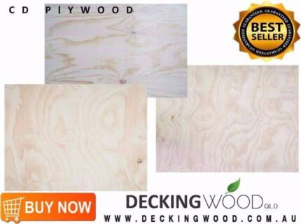 2400X1200 CD Plywood 9mm Non Structural - Cheapest in Queensland