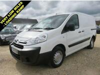 2014 14 CITROEN DISPATCH 1.6 1000 L1H1 HDI SWB WITH REAR LOADING RAMP ONLY 5823
