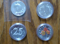 4 Unique RCM Canadian Silver Maple Coins