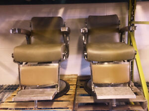 Antique Barber Chairs (Belmont, Koken, Theo, Paidar)