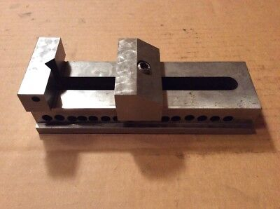 Machinist Tool Die Precision Grinding Mill Drill Press Vise 2 X 2 12 X 7