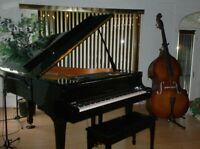 Cours de piano, guitare, batterie