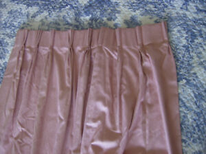 Triple Pleated Lined Drapes