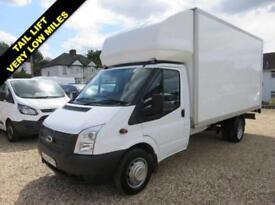 2013 63 FORD TRANSIT 2.2 TDCI 350 LWB LUTON 125 BHP WITH ONLY 18,309 MILES DIESE