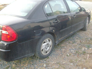 2005 malibu for parts only