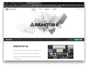 Native Instruments: Reaktor 6 / Una Corda