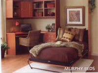 RECLAIM space with MURPHYBEDS/custom cabs/wardrobes/offices