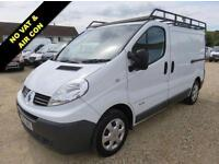 2012 62 RENAULT TRAFIC 2.0 SL27 DCI 115 BHP ONLY 53984 MILES AIR CON NO VAT DIES