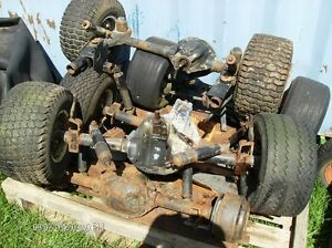 GOLF CART AXLES