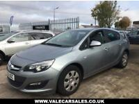 2012 62 VAUXHALL ASTRA 1.4 EXCLUSIV 5 DR