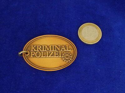 Kripo Metall-Schlüsselanhänger mit Miniaturmarke #2