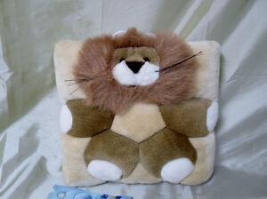 Very soft Cuddly LION Pillow