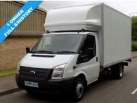 14(14) FORD TRANSIT LUTON EF LWB 350 2.2 RWD 125 BHP INGIMEX BOX VAN TAIL LIFT