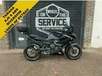 2012 12 YAMAHA XJ6 S ABS DIVERSION***ONLY 6,508 MILES LOTS OF EXTRAS***