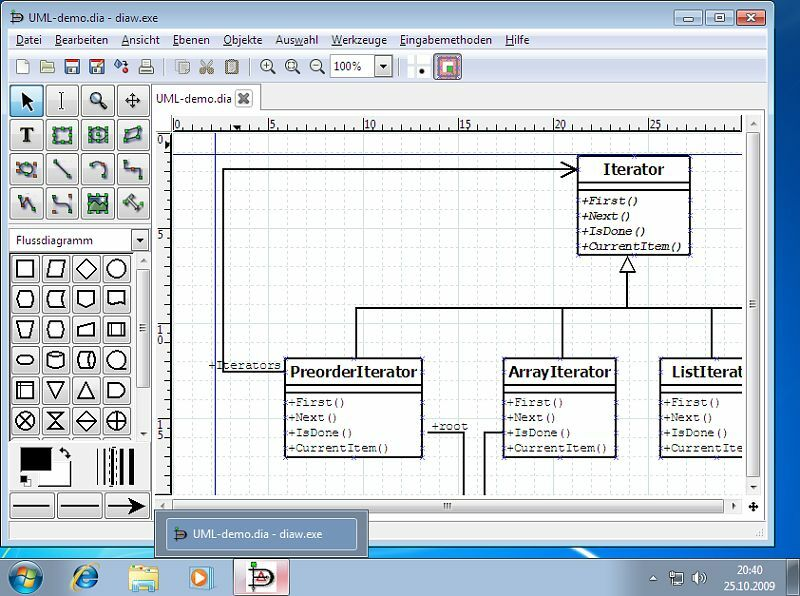 Dia Diagram Editor (Flowchart and Diagram Editing Software) Windows/Mac CD