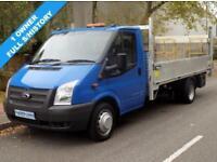 12(12) FORD TRANSIT 350 LWB E/F DRW FLATBED 2.2 RWD 125BHP 6 SPEED EURO 5