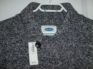 NEW Tag On Men's Sweater and Men's Dress Shirt Size Med