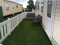 Sleeps 8. Caravan to Rent. Holiday Home. Sand Le Mere. Available from September 6th!