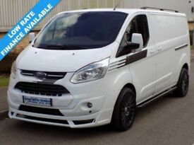 64(14) FORD TRANSIT CUSTOM LIMITED L2H1 290 LWB LOW ROOF 125BHP ST SPORT STYLE