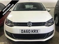 2011 60 VOLKSWAGEN POLO 1.6 SEL TDI ONLY £30 A YEAR TAX + FULL SERVICE HISTORY