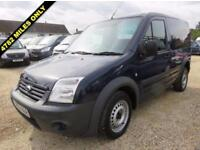 2013 13 FORD TRANSIT CONNECT 1.8 TDCI T220 SWB LOW ROOF 90 BHP ONLY 4,782 MILES