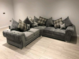 5 Seater Verona Corner Sofa With Scatter Back Cushions