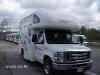 CLASS C MOTORHOMES FOR SALE WITH FREE WARRANTY...