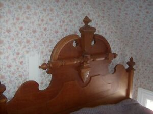 Maple Victorian Bed Cornwall Ontario image 1