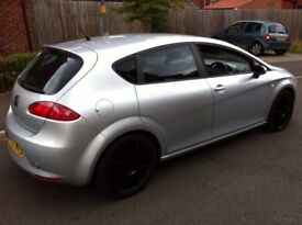 2008 SEAT LEON 1.9 TDI LOW MILEAGE 2 KEYS 1 OWNER FROM NEW NOT ASTRA FR 120D A3 AUDI A4 TYRE R