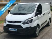14(14) FORD TRANSIT CUSTOM L2H1 290 LWB LOW ROOF 100 BHP EURO 5 CHOICE AVAILABLE
