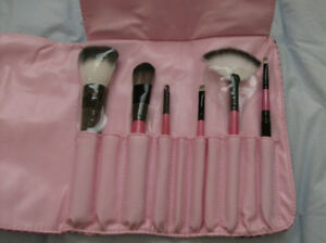 2 Wristlets + Aldo & RL Wallet & 6 New Makeup Brushes in a Case