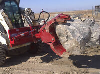 Rock & Tree Grapple Attachment for Skid Steer