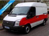 13(13) FORD TRANSIT 260 SWB MEDIUM ROOF 2.2 FWD 100 BHP 6 SPEED EURO 5 HIGH SPEC