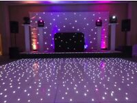 Led dance floor from £200 cover all over uk