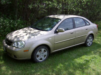 2005 Chevrolet Optra Beige Sedan