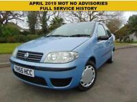 SUPERB 2005 FIAT PUNTO 1.2 8V ACTIVE FULL SERVICE HISTORY SUPERB VALUE FOR MONEY