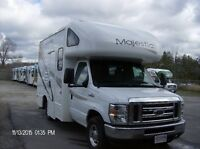 SELLING 2011 CLASS C MOTORHOMES WITH WARRANTY + FLY & BUY REBATE