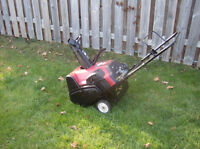 5 HP Toro Snowblower ES