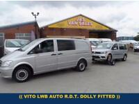 2014 14 MERCEDES-BENZ VITO DUALINER 2.1 116 CDI AUTOMATIC (( FULLY FITTED MOBILE