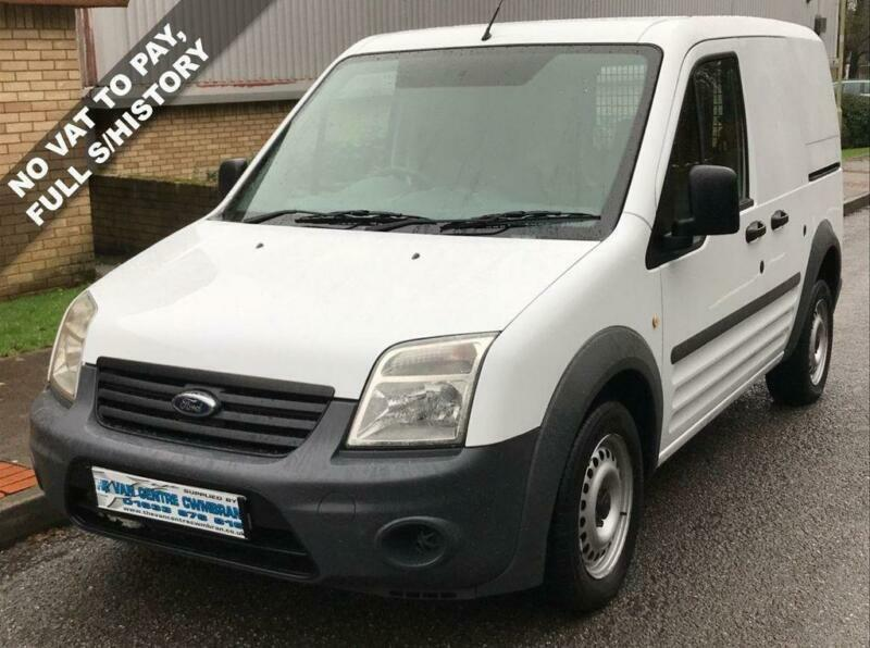 bfb4df9201 62(12) FORD TRANSIT CONNECT 1.8 TDCI T200 SWB LOW ROOF 75 BHP DIESEL NO VAT