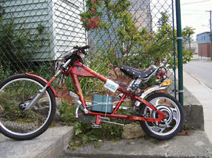 ebike aka electric bicycle :Chopper