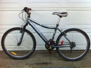 Gray Tofino Infinity 21 Speed Front Suspension Hybrid