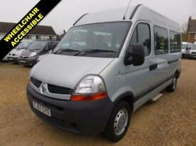 2007 57 RENAULT MASTER 2.5 MM33 MWB 100 BHP WHEELCHAIR ACCESSIBLE MINIBUS 21390