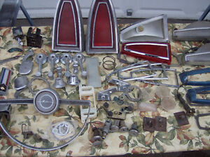 1965 METEOR MONTCALM - PARTS and ORNAMENTS